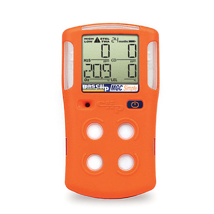 Gas Clip MGC Simple 2 Year Quad Gas Detector