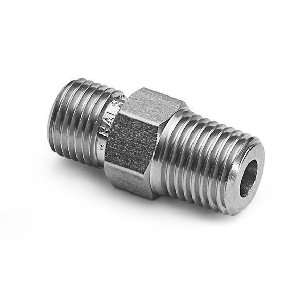 "Ralston QTHA-2MS0 1/4"" Male NPT - Male Quick Test Fitting"