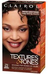 Clairol Textures & Tones Dark Brown 2N