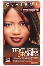 Clairol Textures & Tones Cocoa Brown 3N