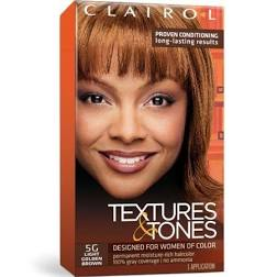 Clairol Textures & Tones Lightest Golden Brown 5G
