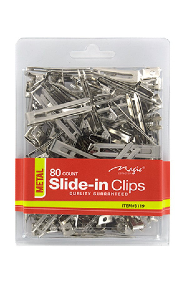 Magic 80ct Slide-in Clips