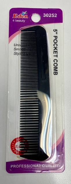 "Eden 5"" Pocket Comb"