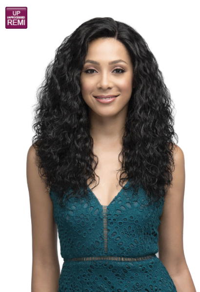 Bobbi Boss Indi Remi 100% Virgin Remy Human Hair Lace Wig - MHRLF002 NATURAL WAVE 22