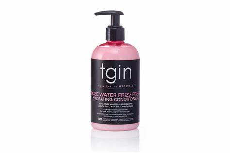 TGIN Rose Water Frizz Free Hydrating Conditioner 13oz