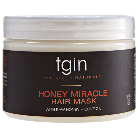 TGIN Honey Miracle Hair Mask 12oz