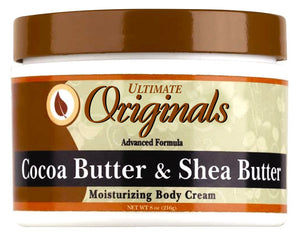 Ultimate Originals Moisturizing Body Cream Cocoa & Shea Butters