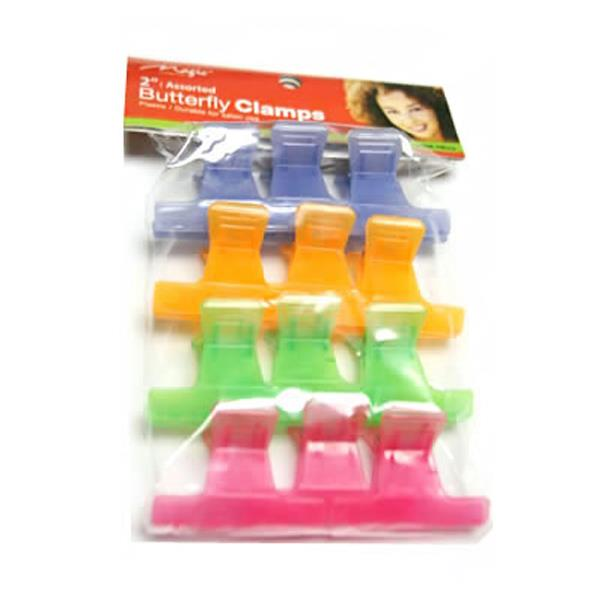 "Magic 2"" Assort Butterfly Clamps"