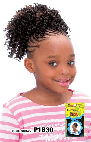 FreeTress Drawstring Ponytail For Kids Cork Screw