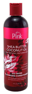 Luster's Pink Shea Butter Coconut Oil Co-Wash Cleansing Conditioner