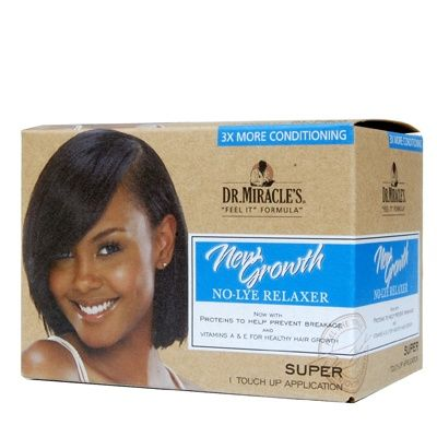 Dr. Miracle's New Growth No-Lye Relaxer Super