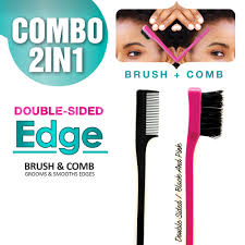 Double-Sided Edge Brush Comb