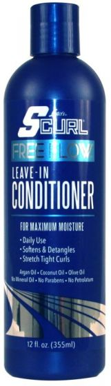 SCurl Free Flow Leave-In Conditioner