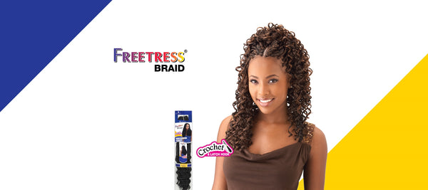 FreeTress Crochet Braid GoGo Curl Bulk 26""