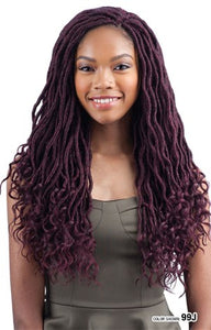 FreeTress Crochet Braid Goddess Loc 18""