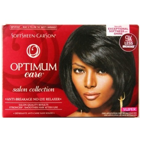 Optimum Defy Breakage No-Lye Relaxer With Whipped Oil Moisturizer Super