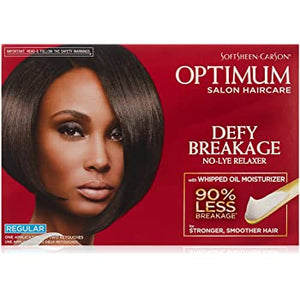 Optimum Defy Breakage No-Lye Relaxer With Whipped Oil Moisturizer Regular