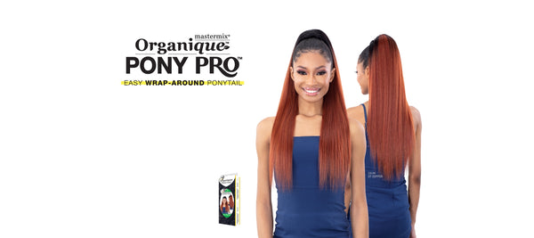 Organique Ponytail Yaky Straight 28""