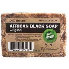 By Natures 100% Natural African Black Soap Original