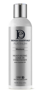 Design Essentials Platinum Moisturzing Leave-In Conditioner