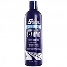 SCurl Free Flow Charcoal Mint Shampoo