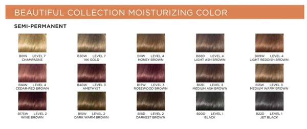 Clairol Beautiful Collection Semi-Permanent Color