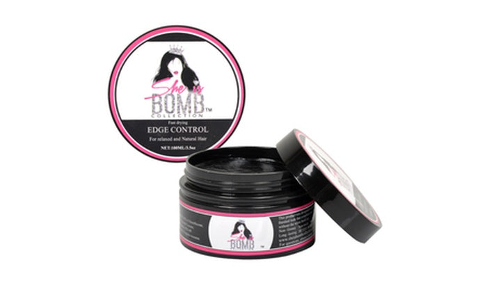 She Is Bomb Collection Edge Control