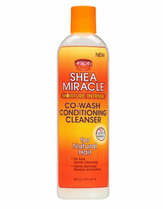 African Pride Shea Miracle Co-Wash Conditioning Cleanser