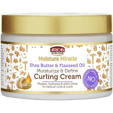 African Pride Shea Butter & Flaxseed Oil Curling Cream