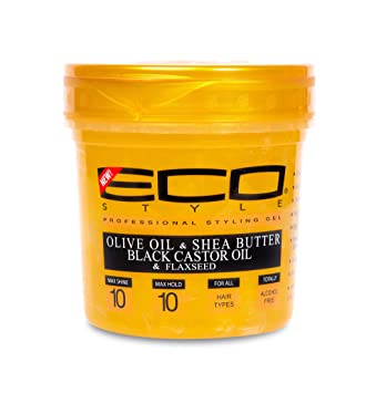 Eco Styling Gel Olive Oil & Shea Butter Black Castor Oil & Flaxseed