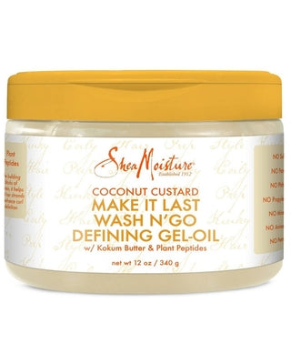 Shea Moisture Make It Last Wash N' Go Defining Gel-Oil