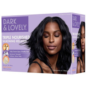 Dark & Lovely Triple Nourished Silkening Relaxer No Lye Regular
