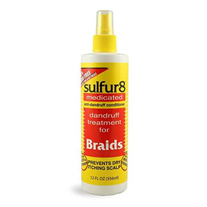 Sulfur 8 Medicated Dandruff Treatment for Braids