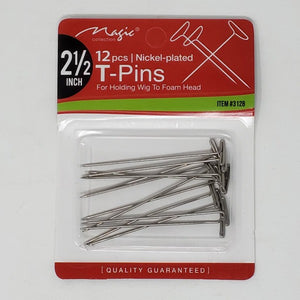 "Magic 2 1/2"" 12Pcs T-Pins"