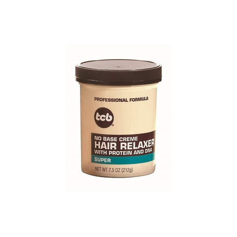 TCB No Base Creme Hair Relaxer With Protein and DNA Super