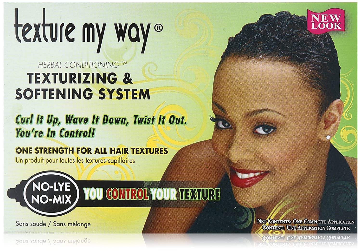 Texture My Way Herbal Conditioning Texturizing & Softening System