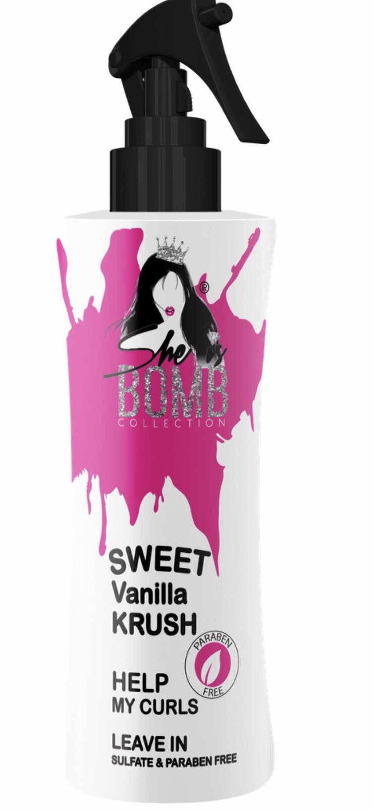 She Is Bomb Collection Sweet Vanilla Krush Leave In