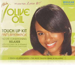 Vitale Olive Oil Touch Up Kit Anti-Breakage No-Lye Relaxer Regular