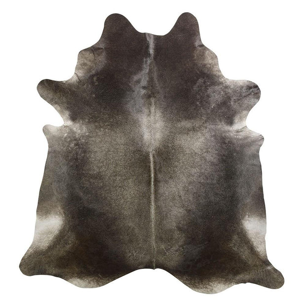 Cowhide Rug Gris Dark XL
