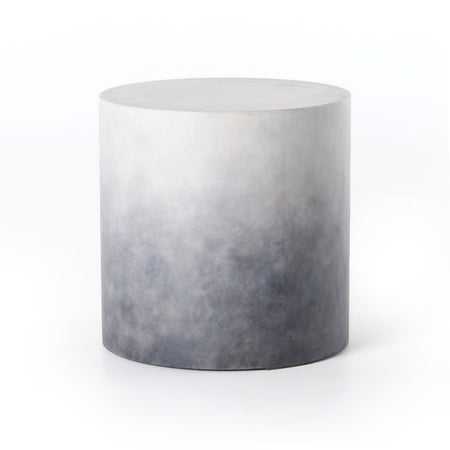 Sheridan End Table in Indigo Ombre Concrete