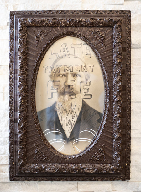 Butch Anthony - Late Payment Fee - Framed