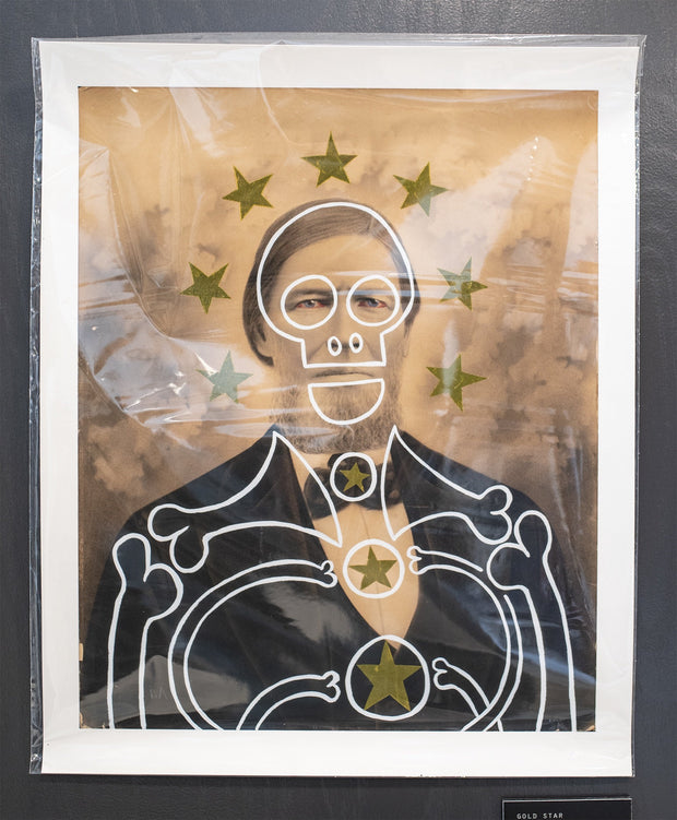 Butch Anthony - Gold Star - Limited Edition Print