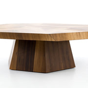 Brooklyn Coffee Table in Blonde Yukas