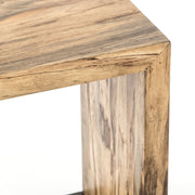 Hudson C Table in Spalted Primavera