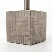 Sirius Adjustable Accent Table in Gunmetal