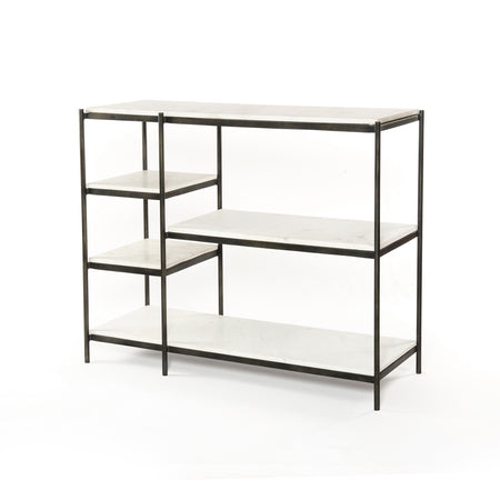 Lily Console Table - Hammered Grey