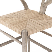 Muestra Counter Stool - Weathered Grey