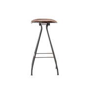Ryder Bar Stool - Gunmetal