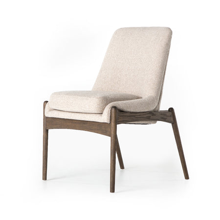 Braden Armless Dining Chair - Light Camel
