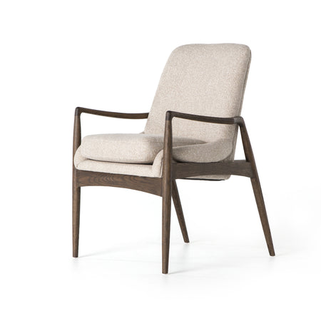 Braden Dining Arm Chair - Light Camel